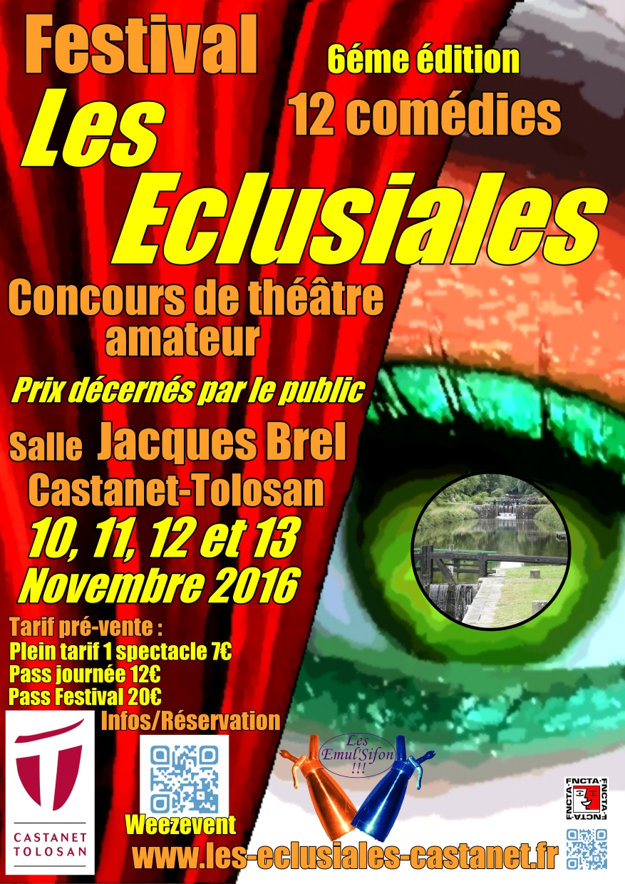 Affiche Festival Eclusiales